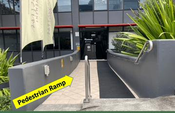 LSP Pedestrian ramp